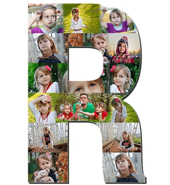 r main Alphabet Photo Collage Alphabet Photo Collage