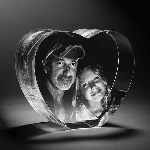 personalised 3D crystal photo heart shape image with customized text 1 3d crystal,3d crystal photo,3d glass photo,3d crystal gifts,3d crystal printing in chennai