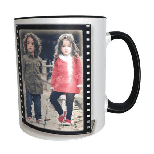 bro mug black 1 Bro Personalised photo mug photo mug