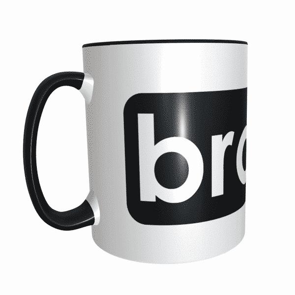 Bro mug black 2 photo mug,gift mugs chennai,mug printing in chennai,photo mug shop near me