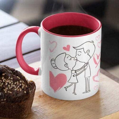 All Love is Beautiful 2 Coffee mug with print - All Love is beautiful but ours is my favorite - White mug Coffee mug with Print