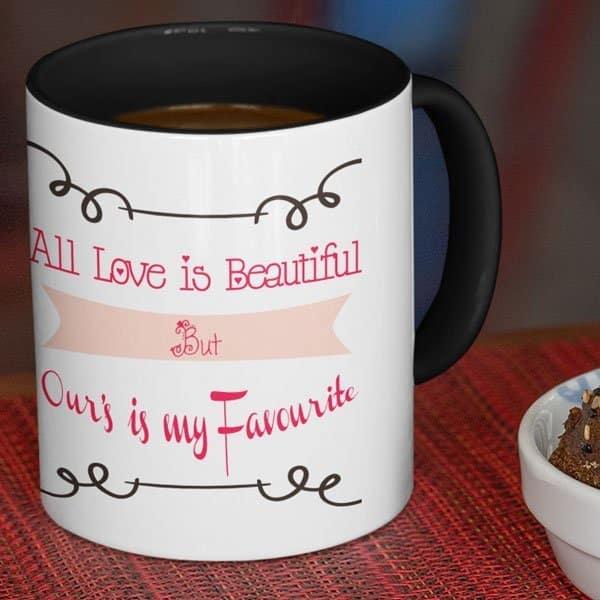 All Love is Beautiful 5 Coffee mug with Print,Mug With Print,photo mug