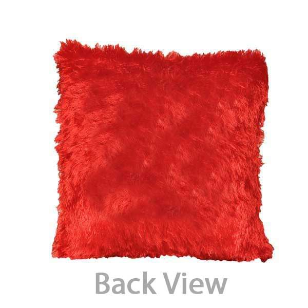 Customized-Pillows-Red-Square-back-view