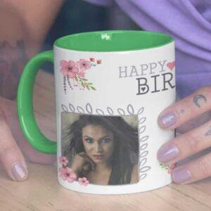 Happy birthday 1 coffee mug with print,mug with print,photo mug