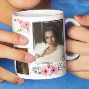 Happy birthday 6 coffee mug with print,mug with print,photo mug