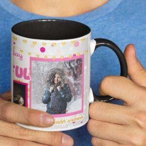 Happy birthday beautiful 3 coffee mug with print,mug with print,photo mug