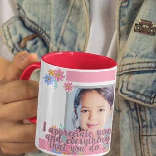 I Appreciate You 5 Happy Birthday Coffee Mug  Print - I Appreciate You Coffee mug with Print
