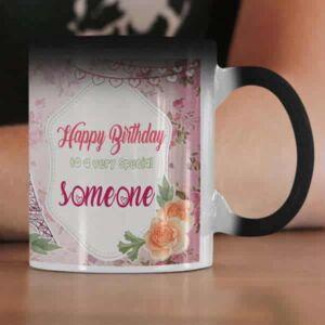 I hear today is your birthday 2 coffee mug with print,mug with print,photo mug