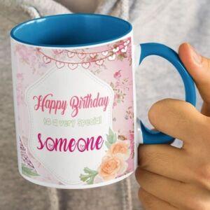 I hear today is your birthday 4 coffee mug with print,mug with print,photo mug