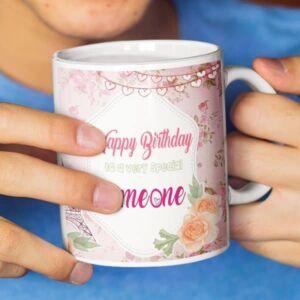 I hear today is your birthday 6 coffee mug with print,mug with print,photo mug