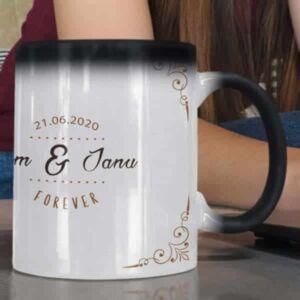 Just married 1 coffee mug with print,mug with print,photo mug