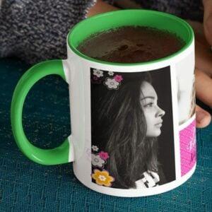 Ms. Special 4 coffee mug with print,mug with print,photo mug