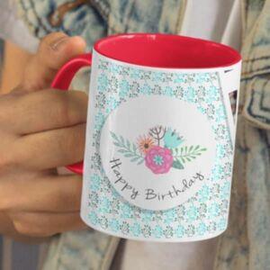 On this day... Your birthday 5 coffee mug with print,mug with print,photo mug