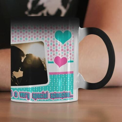 To A Very Special Someone 6 Coffee Mug with Print - Happy Birthday, To A Very Special Someone -  White mug Coffee mug with Print