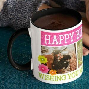 To my better half 6 coffee mug with print,mug with print,photo mug