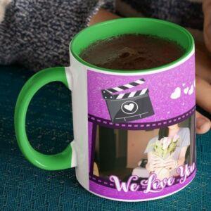 Welove you mom 4 coffee mug with print,mug with print,photo mug