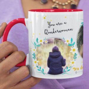 You are a wonderwoman 2 coffee mug with print,mug with print,photo mug