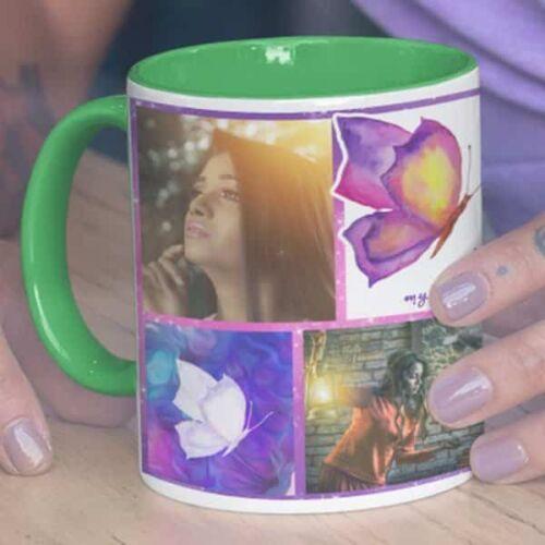 You Are My Happiness 1 Happy Birthday - You Are My Happiness - Coffee Mug Print With 3 Photos Coffee mug with Print