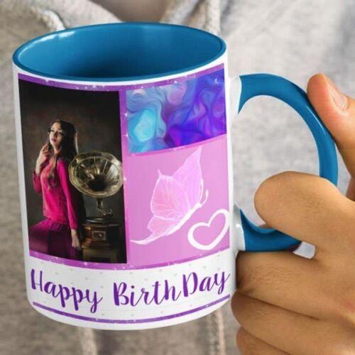 You Are My Happiness 4 Happy Birthday - You Are My Happiness - Coffee Mug Print With 3 Photos Coffee mug with Print