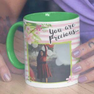You are precious 1 coffee mug with print,mug with print,photo mug