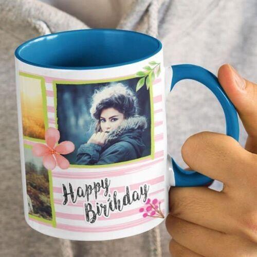 You Are Precious 4 Happy Birthday - You Are Precious - Coffee Mug Print With 4 Photos Coffee mug with Print