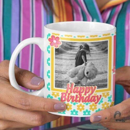 You deserve all the happiness 2 coffee mug with print,mug with print,photo mug