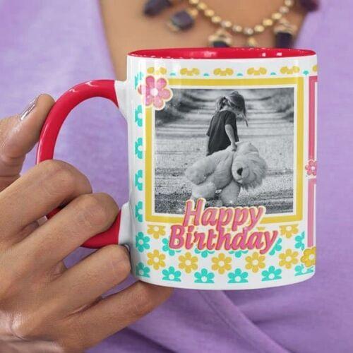 You deserve all the happiness 7 coffee mug with print,mug with print,photo mug