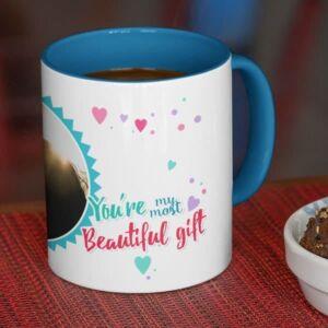 You aremost beautiful gift 4 coffee mug with print,mug with print,photo mug