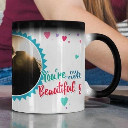 You aremost beautiful gift 6 coffee mug with print,mug with print,photo mug