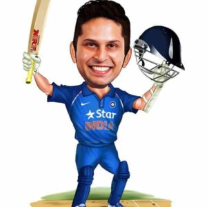 Caricature for Cricketers - Personalized Caricature Gifts