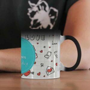 Coffee mug with print love 1 magic mug coffee mug with print,mug with print,photo mug
