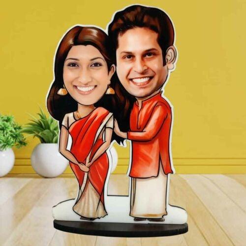 Traditional-dress-couple-caricature-1080px-bavash