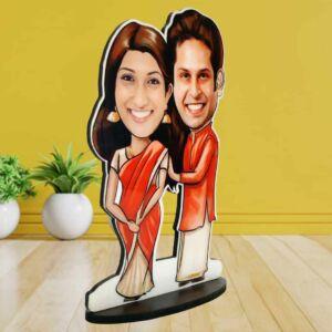 Traditional-dress-couple-caricature-21080px-bavash