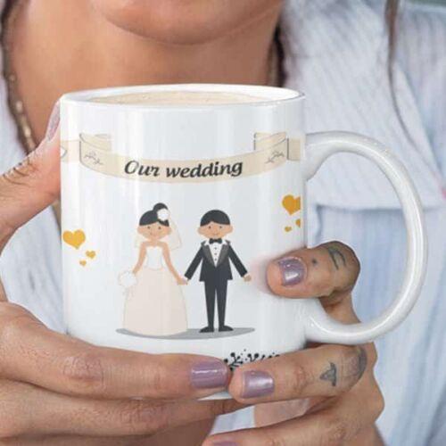 wedding 1 2 Wedding - Coffee Mug With Print - Our Wedding Coffee mug with Print