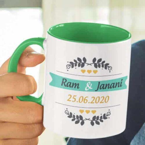 wedding 1 4 Wedding - Coffee Mug With Print - Our Wedding Coffee mug with Print