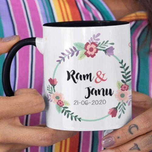 wedding 2 4 Wedding - Coffee Mug With Print - Our Wedding - 2 Coffee mug with Print