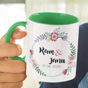 Wedding 2 6 coffee mug with print,mug with print,photo mug