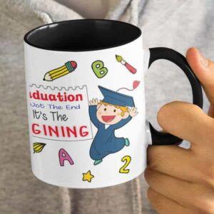 Graduation 1 5 coffee mug with print,mug with print,photo mug