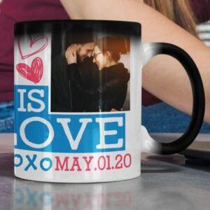 Magic coffee mug with print,mug with print,photo mug