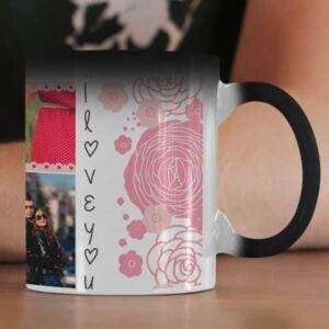 Magic 6 coffee mug with print,mug with print,photo mug