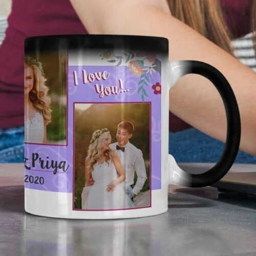 Magic 9 Coffee mug with print - mug for newly married couple - White mug Coffee mug with Print