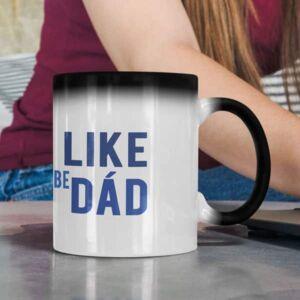 I like to be dad magic mug coffee mug with print,mug with print,photo mug