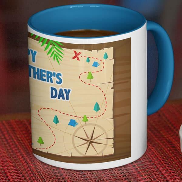 parent 10 5 Happy Father's day 2- White mug Coffee mug with Print
