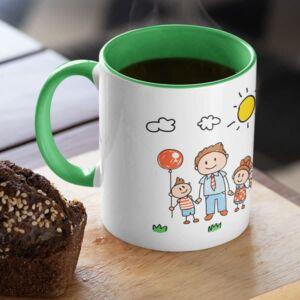 Parent 19 6 coffee mug with print,mug with print,photo mug