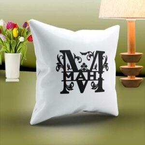 Pillow-monogram-M-L-1