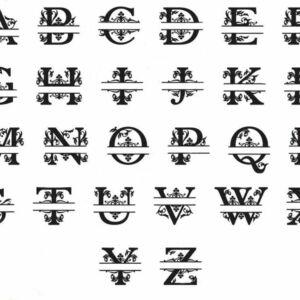 Monogram-26-letters